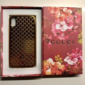 GUCCI GOLD iPhone X/XS Case